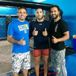 Con-Enrique-Marín-Wasabi,-competidor-de-UFC